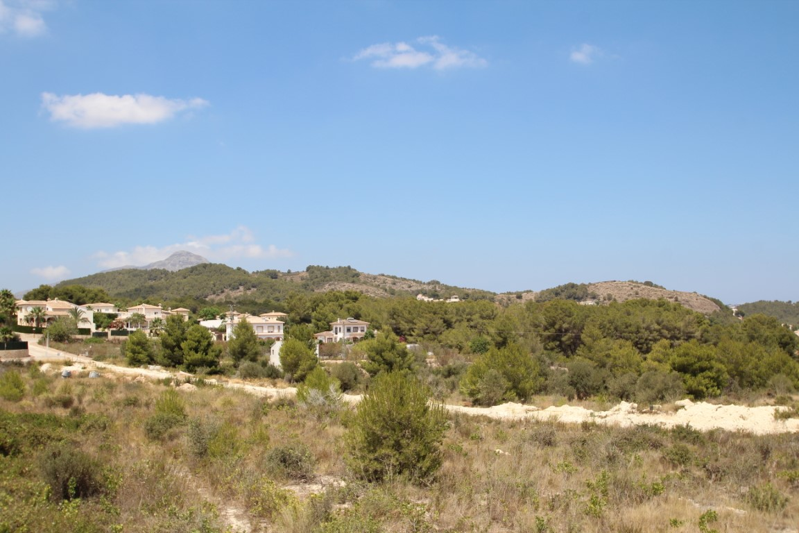 Plot in Javea Las Laderas
