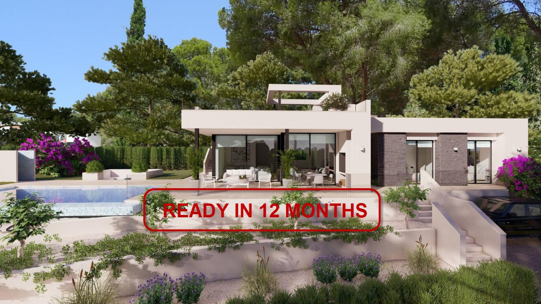 New Build in Benissa Fustera