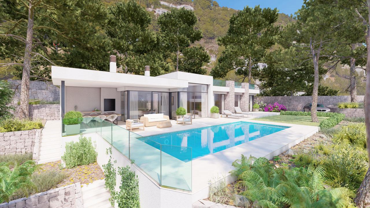 New Build in Benissa Raco de Galeno