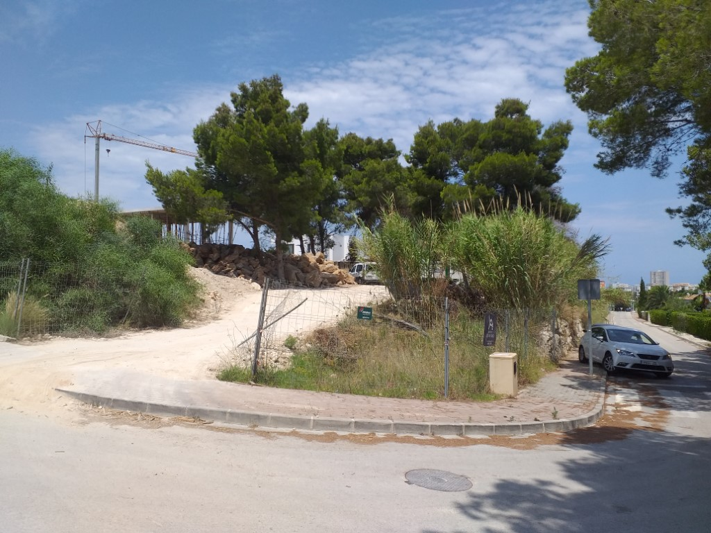 Plot in Javea Adsubia