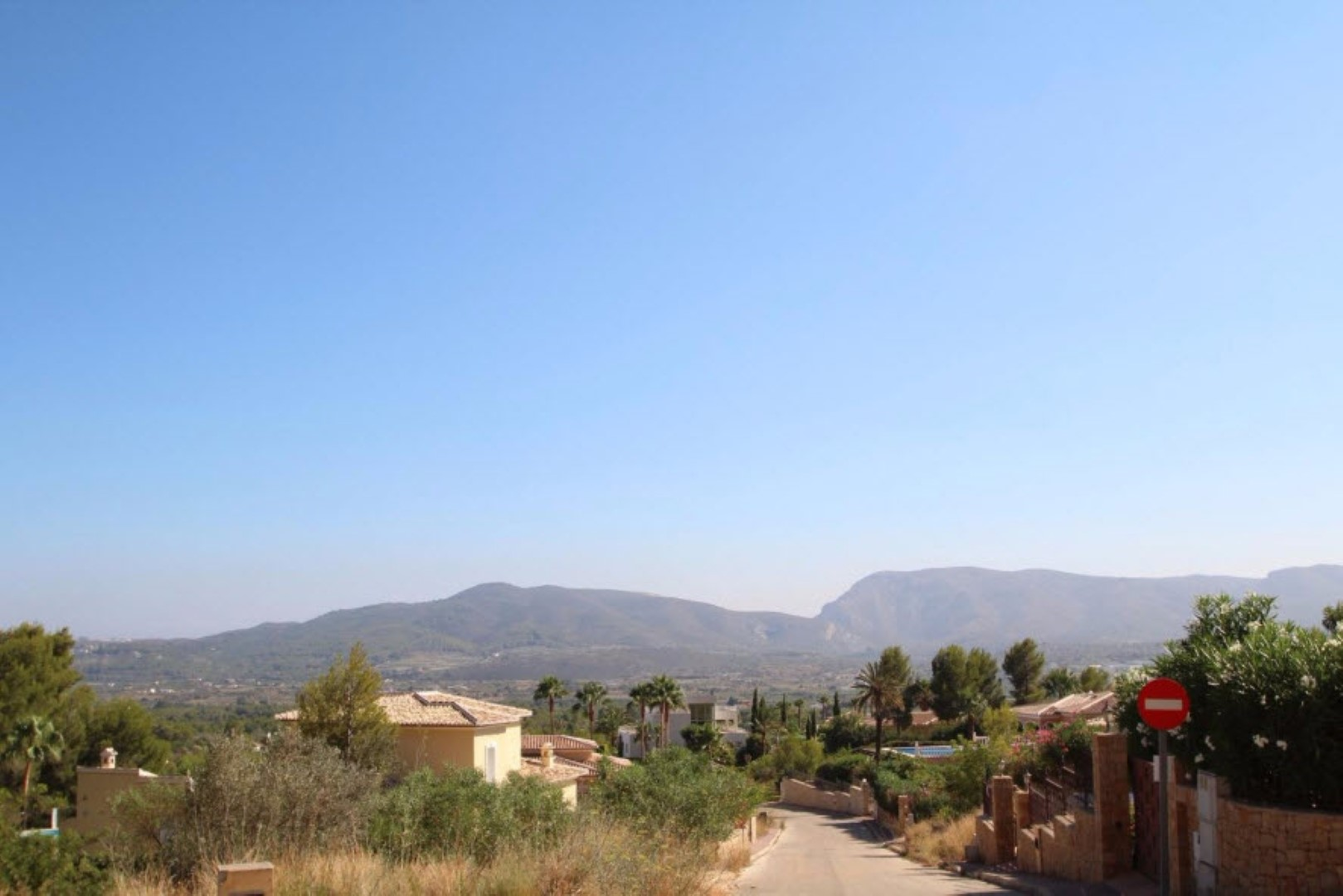 Plot in Javea Montgo