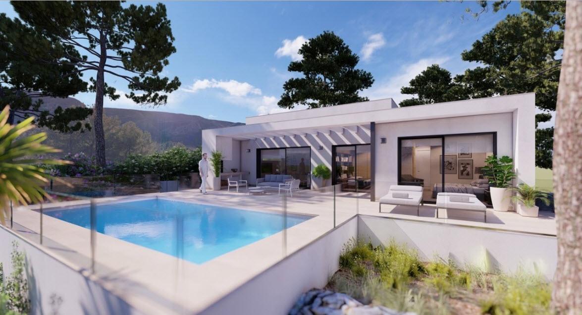 New Build in Pedreguer Monte Solana