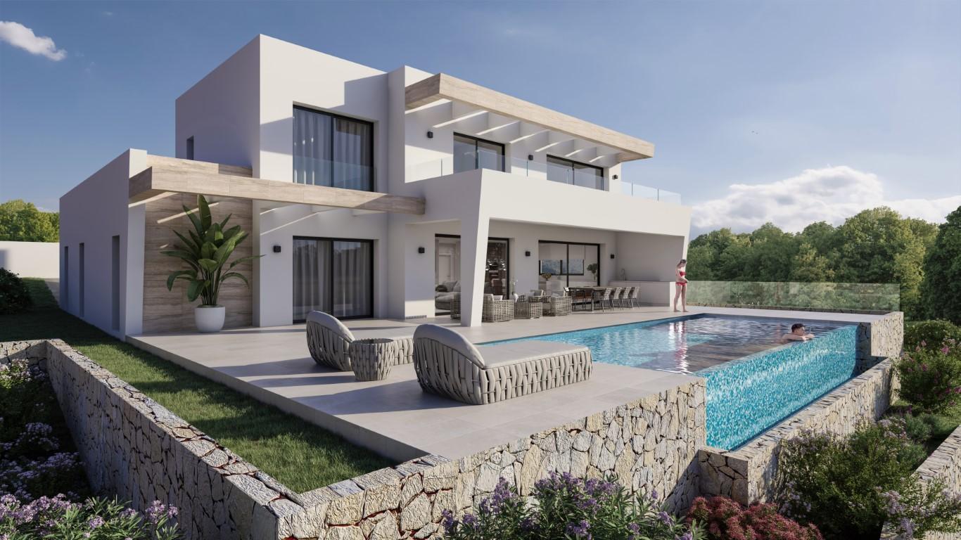 Villa in Moraira El Tesoro