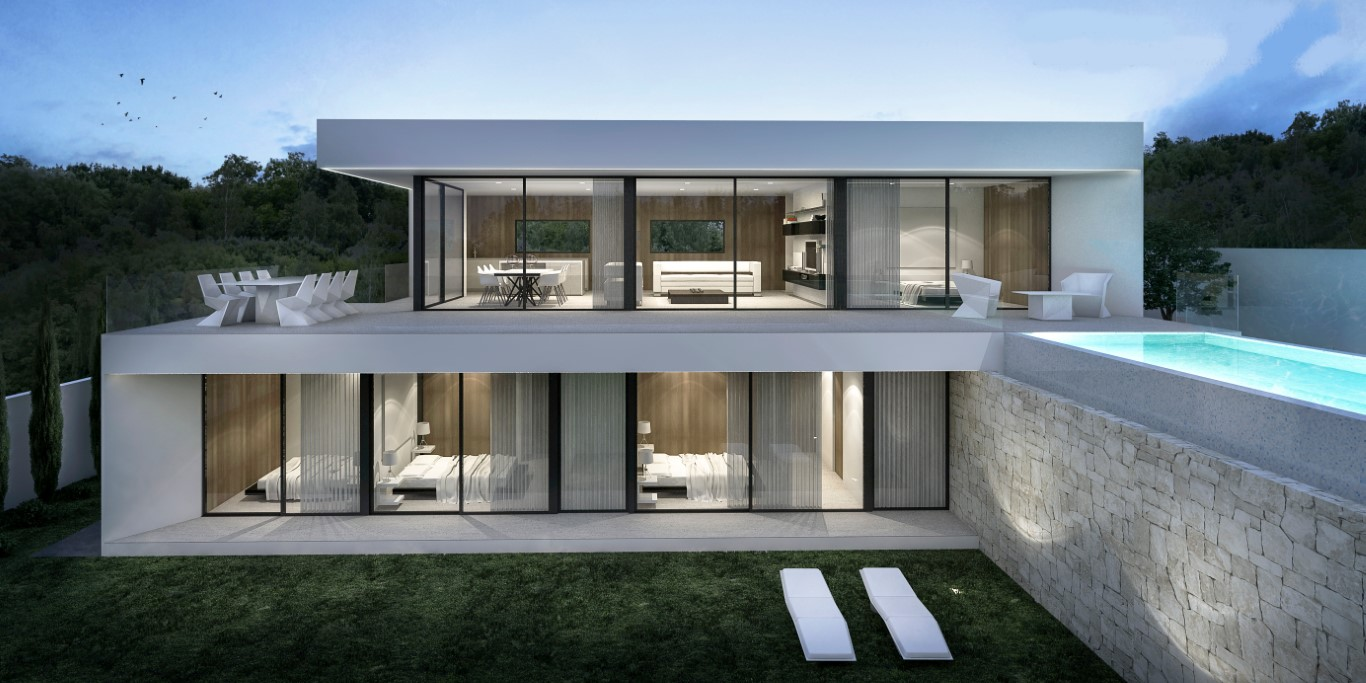 New Build in Moraira Sabatera