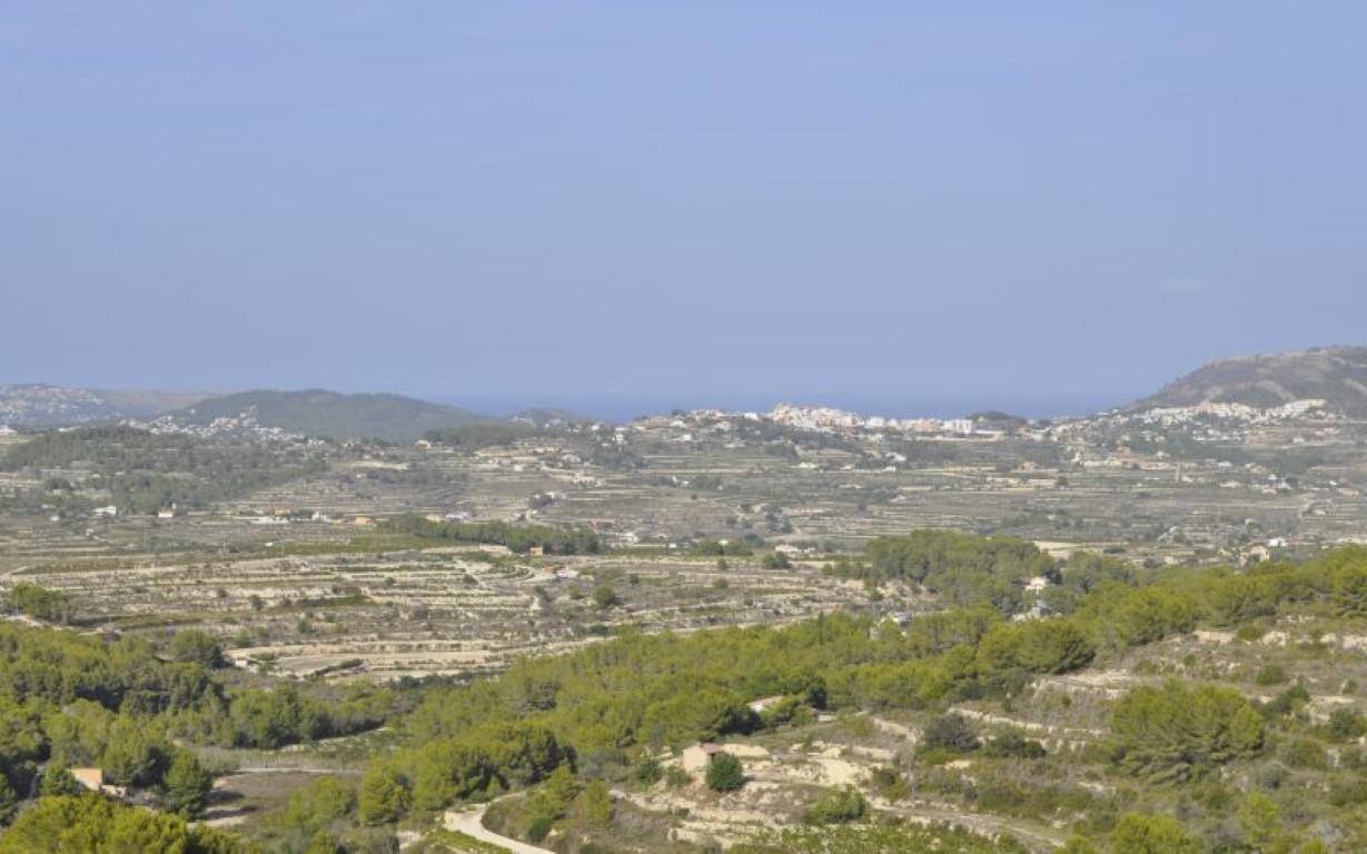 Plot in Moraira Benimeit