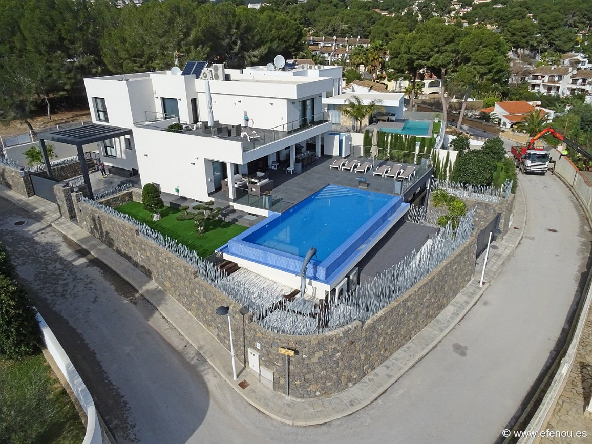 New Build in Moraira San Jaime