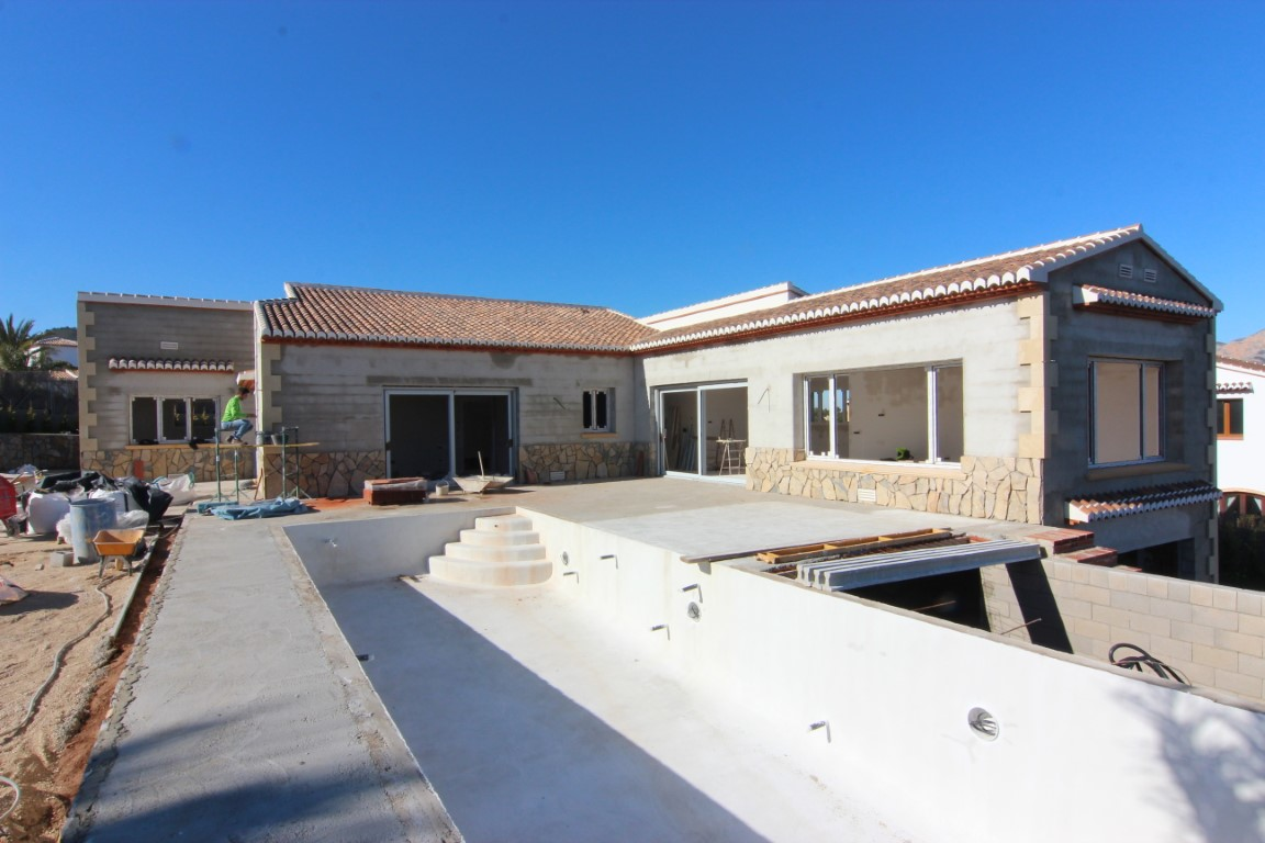 New Build in Javea La Lluca