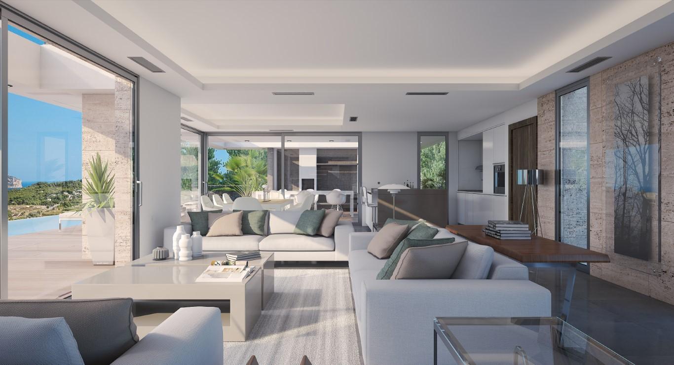 New Build in Javea Xabia Nova