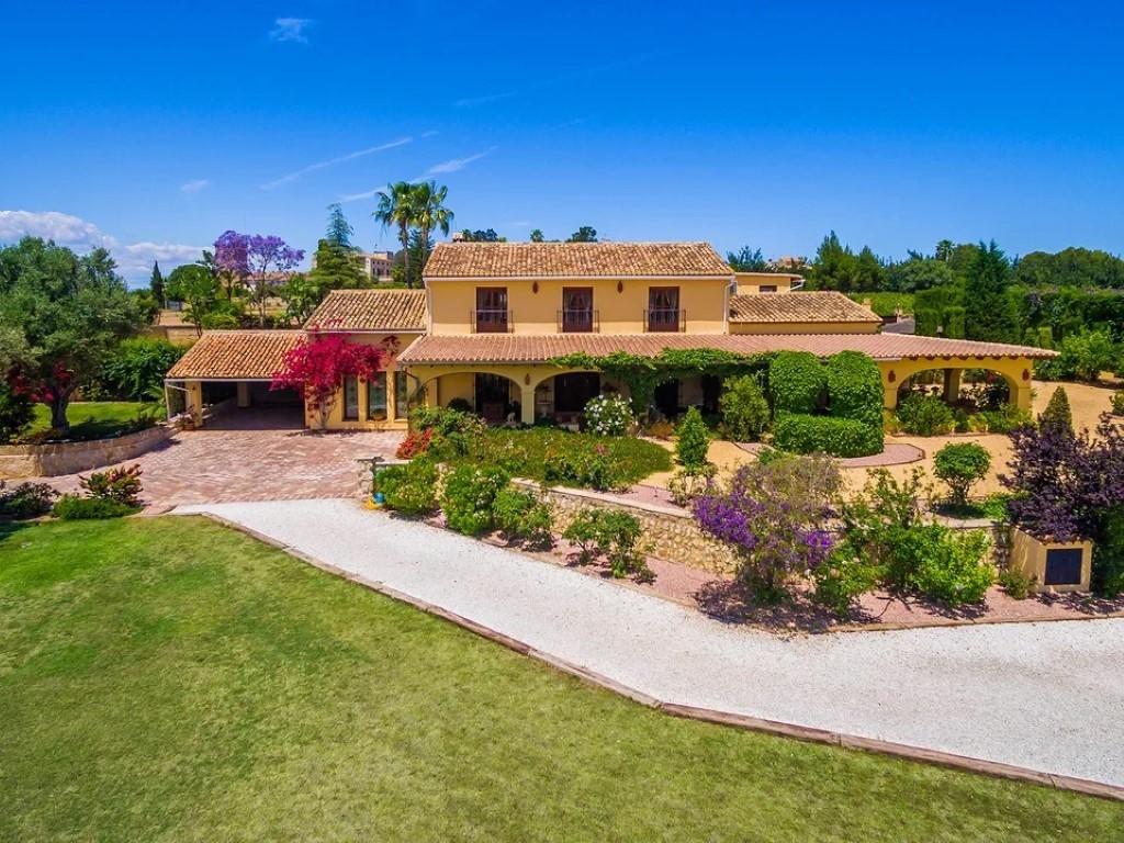 Property Finca For Sale In Moraira Javea Denia Alicante Calpe With Spanish Casa