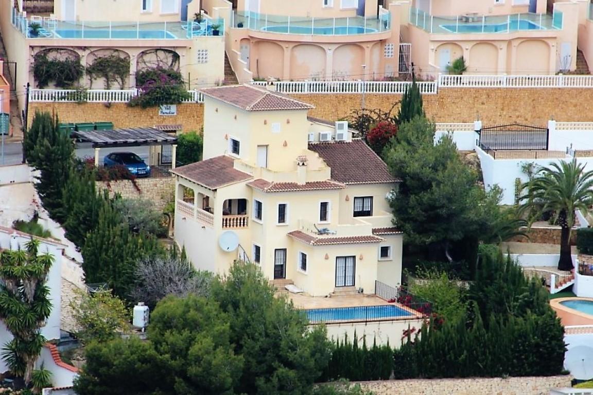 Villa in Benitachell Via Pista