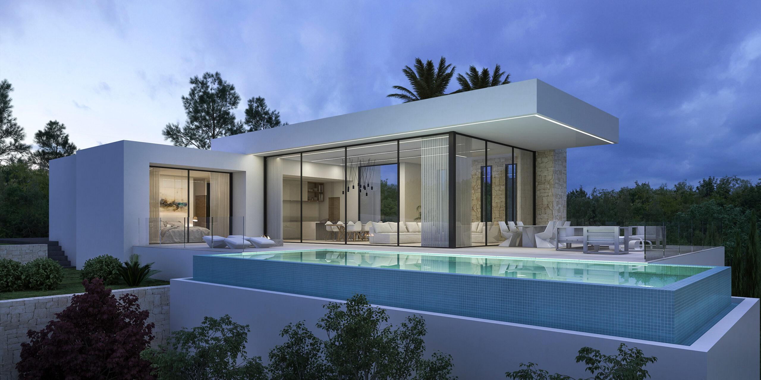 New Build in Moraira Fanadix