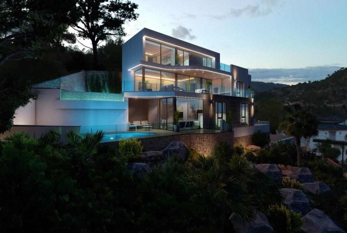 6 Bedroom Villa in Calpe
